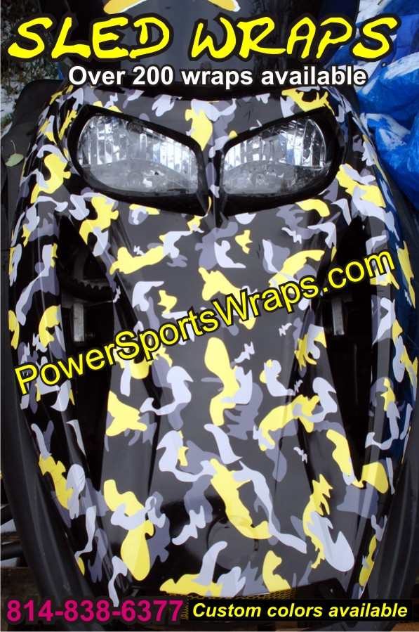 Ski Doo wrap, Ski Doo decals, Ski Doo graphics, Ski Doo camo, ski doo custom wrap, Sled, Sled wraps, Sled decals, sled graphics, sled decos, sled deco, snowmobile, snowmobile decals, snowmobile wraps