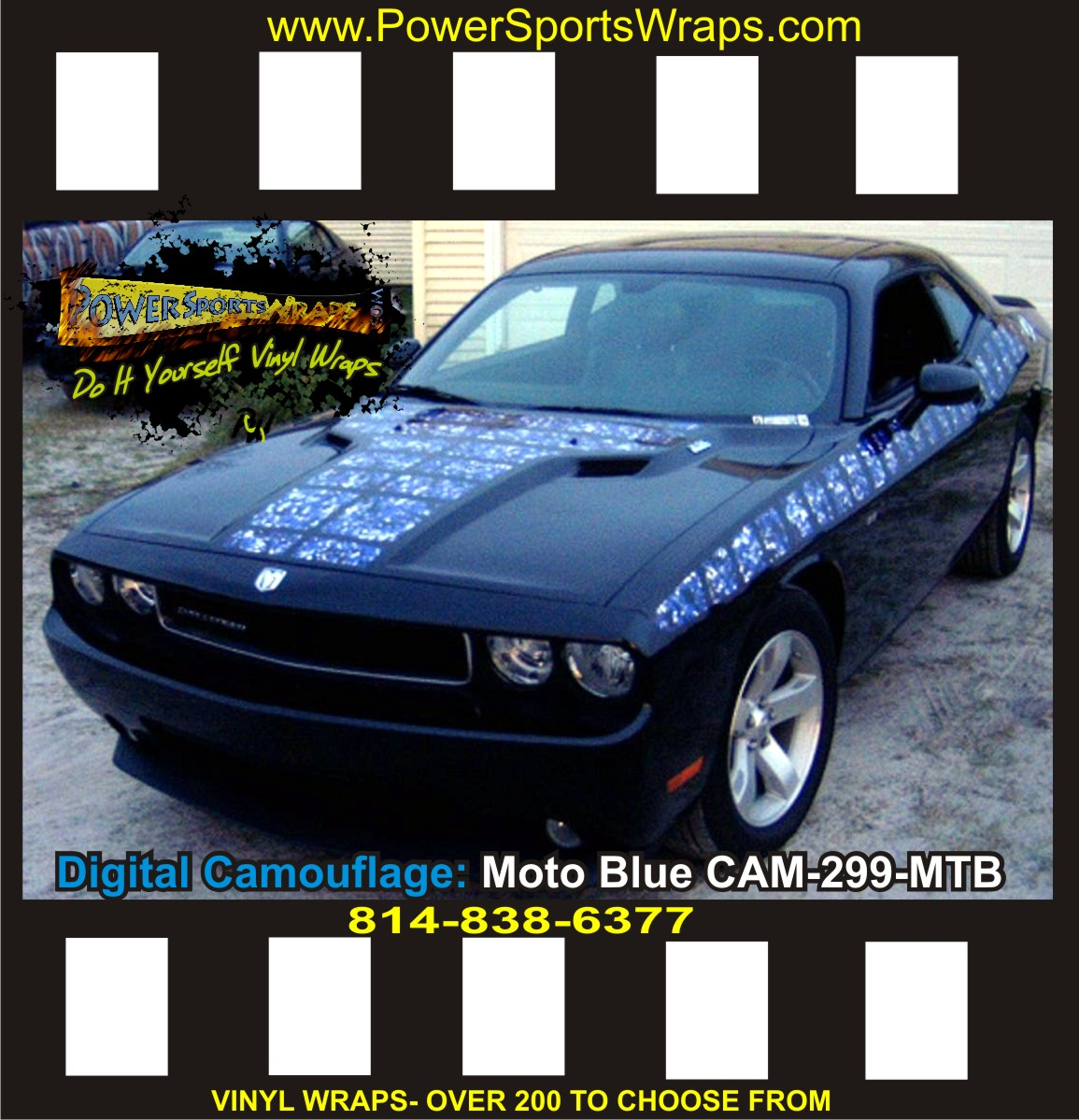 Dodge Challenger Camo