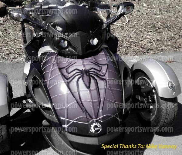 Can Am Spyder Trunk Wrap Trunk Decal Custom Trunk Design
