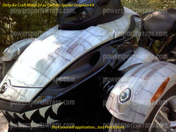 Can am spyder vinyl decals archives wrapmyspyder can am spyder custom decal kits just peel solutioingenieria Image collections
