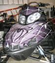 Sled wraps, graphics, decals & more.. custom desing, you create we produce, peel & stick 814-838-6377