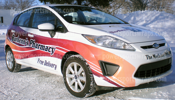 Ford Fiesta Car Warp Car Body Wraps For All Makes
