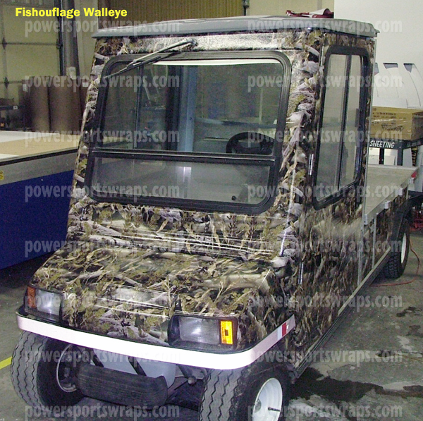Powersportswraps.com, Authorized Fishouflage dealer, for all you camouflage needs contact us... PowerSportswraps.com