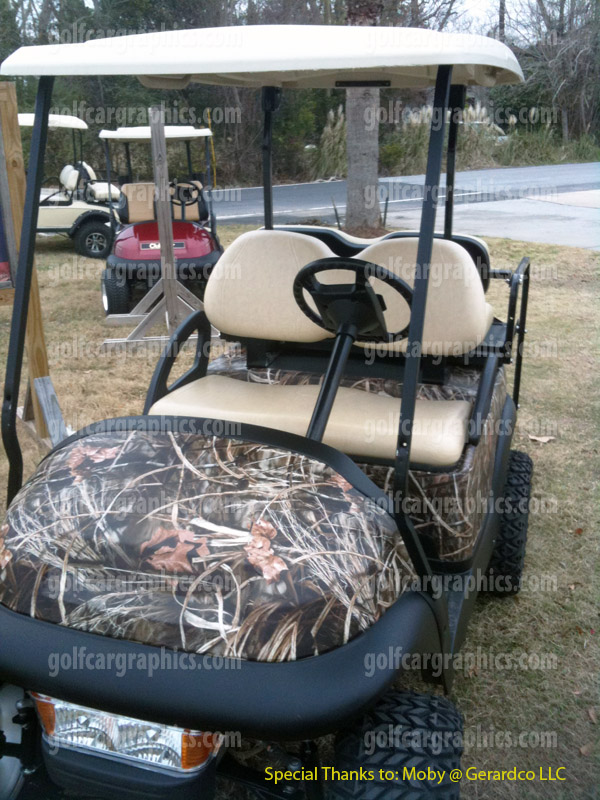 Advantage Max4 golf cart wrapping film, Camo film, Camo vinyl, peel & stick camo from Powersportswraps.com