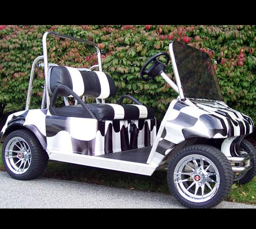 Checker Flag Racing wrapping film