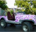 Pink Camo Jeep