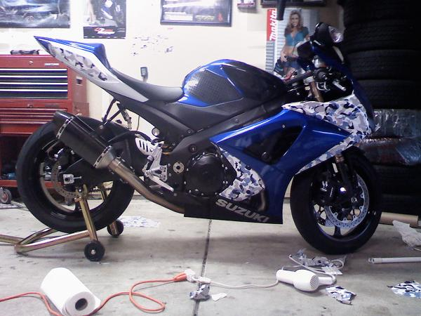 SUZUKI WRAP Archives Powersportswrapscom - Vinyl bike wrapmotorcycle wrap archives powersportswrapscom