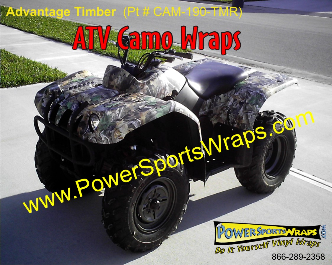 ATV Camo available at Power Sports Wraps