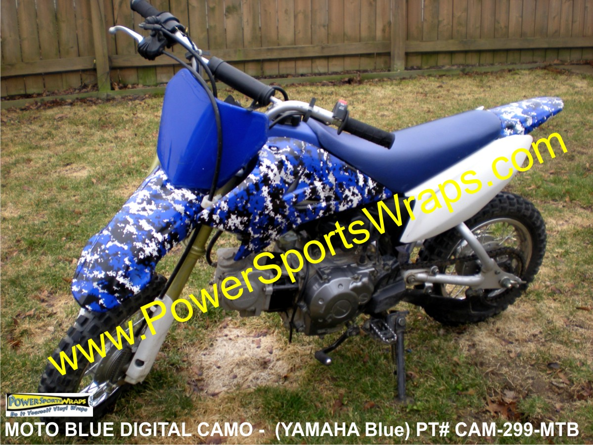 YAMAHA, YAMAHA CAMO, YAMAHA BLUE CAMO, DIGITAL CAMO, BLUE DIGITAL CAMO, CAMOUFLAGE BLUE, CAMOFLAGE, MOTORCYCLE, DIGITAL CAMO, YAMAHA DECALS, YAMAHA CAMO DECALS, BLUE CAMO DECAL, PIT BIKE DECALS, POCKET BIKE, POCKET BIKE DECALS,