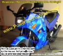 Street Bike vinyl wrap & decals, Custom bike wraps, stunter decals