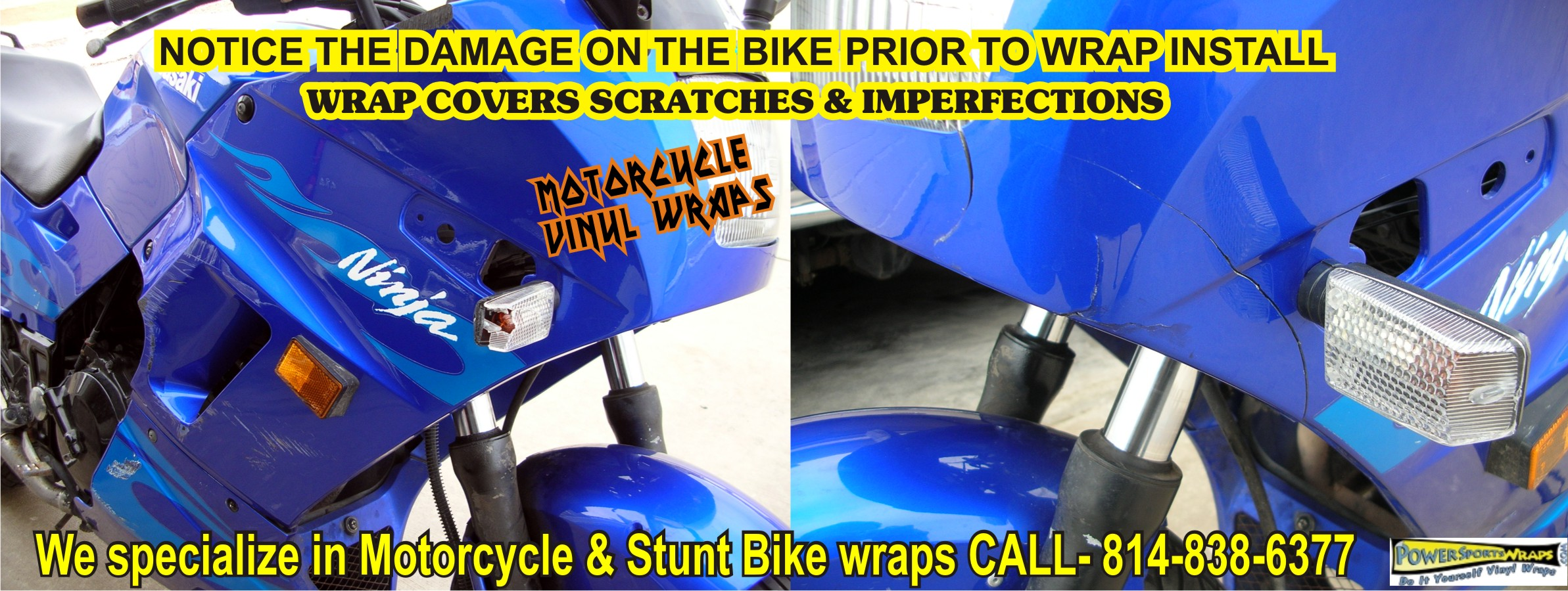 New Wrap Projects Archives Page Of Powersportswrapscom - Vinyl bike wrapmotorcycle wrap archives powersportswrapscom