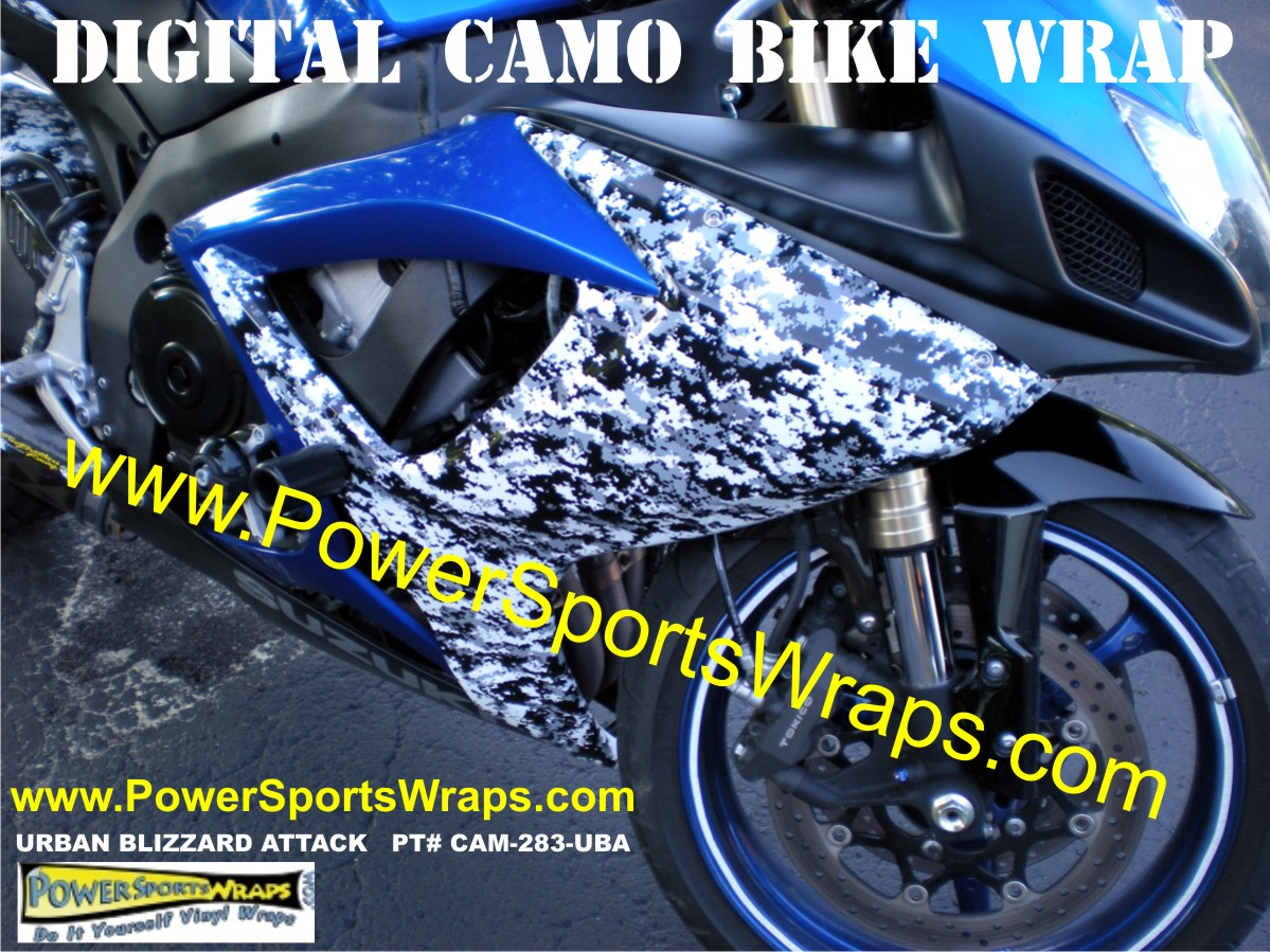 Custom Bike wrap done for under $150.00 call for yours 814-838-6377