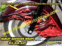 Harley Davidson custom flame wrap for under $200.00 SAVE..