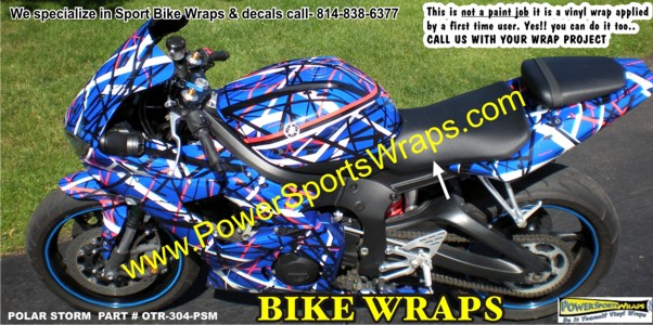 Motorcycle Wrap Archives Page Of Powersportswrapscom - Vinyl bike wrapmotorcycle wrap archives powersportswrapscom