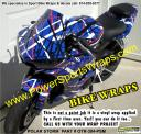 SPORT BIKE VINYL WRAPS OVER 200 PATTERNS TO CHOOSE FROM 814-838-6377