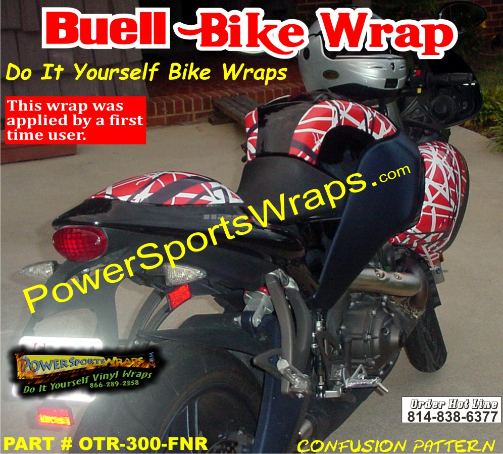 Confusion Red BUELL R BUELL WRAP BUELL DECALS BUELL RACING - Custom vinyl decals motorcycles