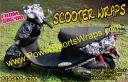 Scooter wrap with Digital Snow camouflage, do it your self scooter wraps from $65.00