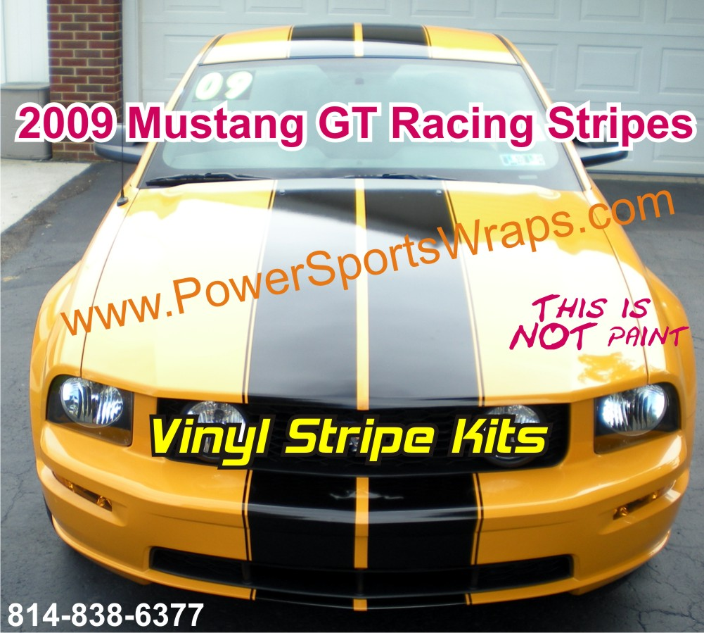 MUSTANG, MUSTANG GT RACING STRIPES, ROUSH RACING STRIPE ...