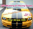 Mustang GT racing stripe, GT stripe, Mustang, Mustang Racing, Ford Mustang, Ford GT, Ford Mustang graphics, Mustang Decal kit, Mustang decals, Roush, Shelby, Shelby stripes