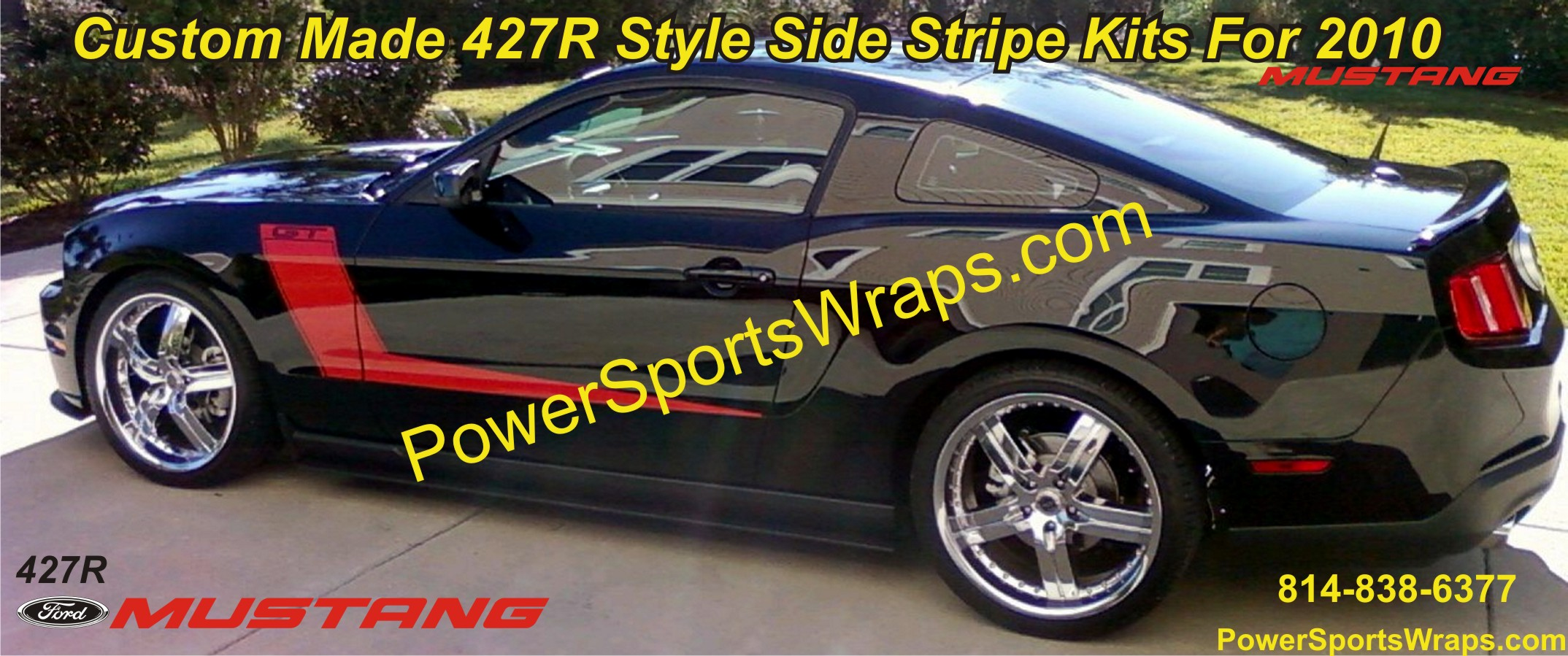 Mustang Stripes Archives Powersportswraps Com