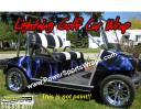 lightning golf cart vinyl wrap for under $400.00 Wow save $$ Do it yourself apply