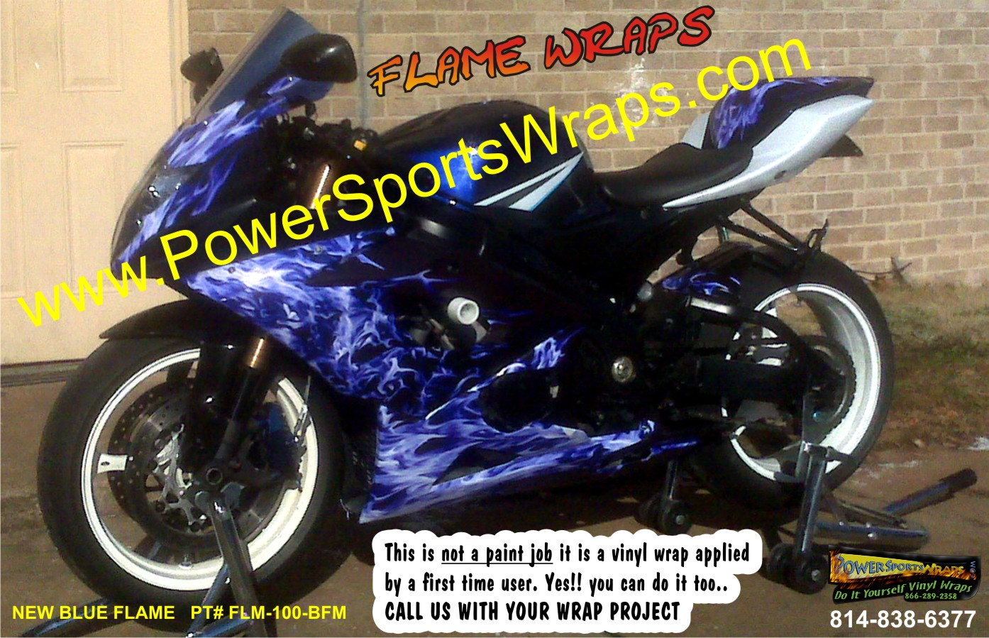 Bike Wrap Archives Page Of Powersportswrapscom - Vinyl bike wrapmotorcycle wrap archives powersportswrapscom