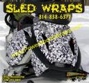 Snowmobile wraps for all brands from $65.00 - PowerSportsWraps.com 814-838-6377