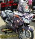 Honda wrap, ST 1100, motorcycle wraps, bike wraps, John Tome, Beth Tome vinyl wrap 814-838-6377