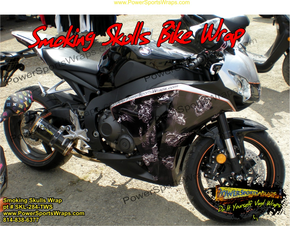 Skull Vinyl Archives Powersportswrapscom - Vinyl bike wrapmotorcycle wrap archives powersportswrapscom