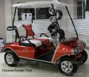 golf car fender flairs & accent trim, peel & stick apply, automotive grade golfcargraphics.com