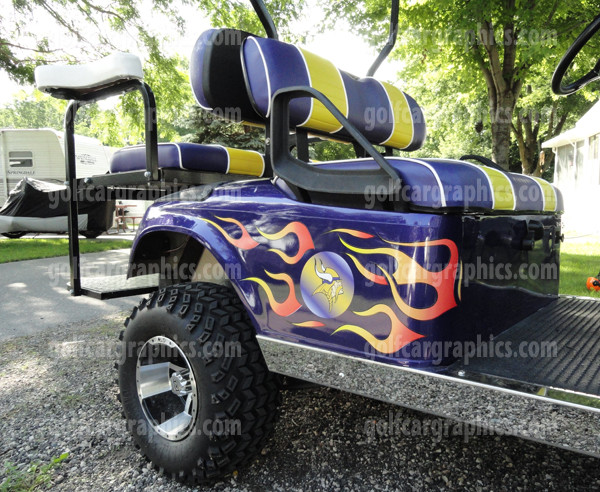 Golf Cart Decals Wraps Graphics Amp More Golf Car
