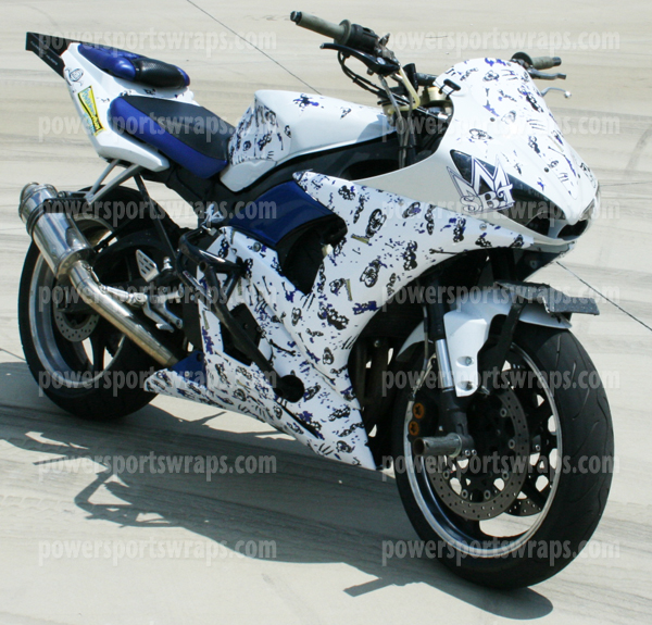 Bike Wraps Archives Page Of Powersportswrapscom - Vinyl bike wrapmotorcycle wrap archives powersportswrapscom