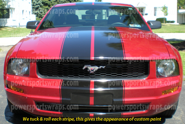 Mustang Racing Stripes GT Stripes Roush Style Stripes - Cool car stripes