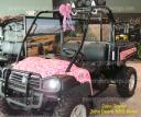 Pink Camo wrap on John Deere Gator, Pink camo, Camo film from www.powersportswraps.com