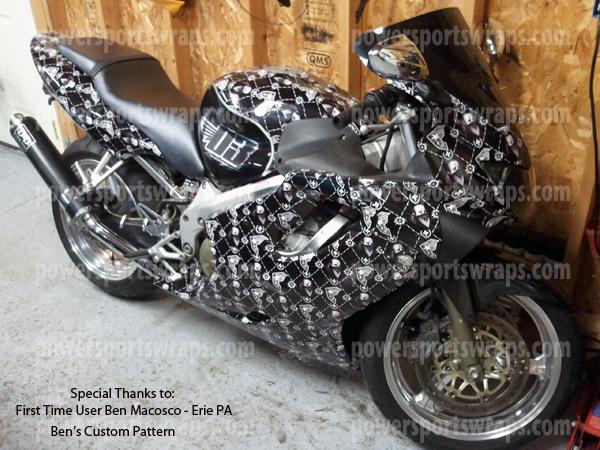 Cruiser Wraps Archives Powersportswrapscom - Vinyl skins for motorcyclestrue fire bike wrap archives powersportswrapscom
