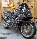 do it yourself vinyl wraps for all makes & model motorcycles, bike wraps, from powersportswraps.com