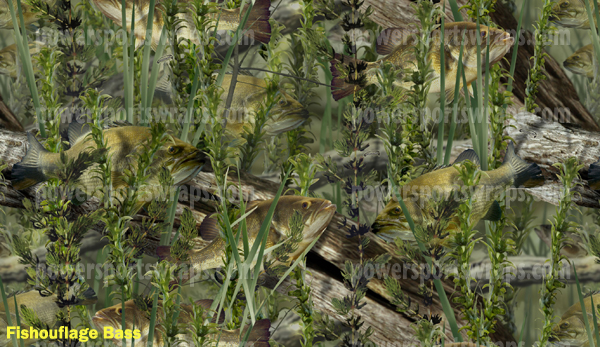 Fishouflage Camo Fish Theme Wrapping Film New