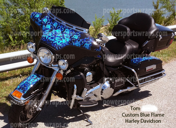 Vinyl Bike Wraps Archives Powersportswrapscom - Harley davidson custom vinyl stickers