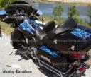 Harley Davidson custom flames, many colors to choose from.. better than paint, peel & stick apply- PowerSportsWraps.com