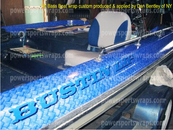 Bass Boat Wrap Boat Wraps Made To Order Do It Yourself