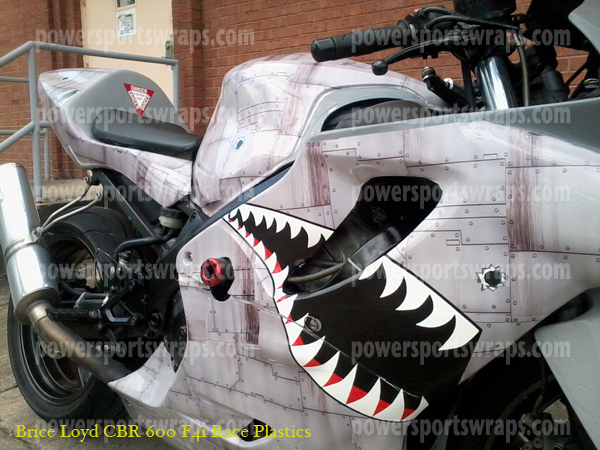 Dirty Air Craft Metal P40 Shark face
