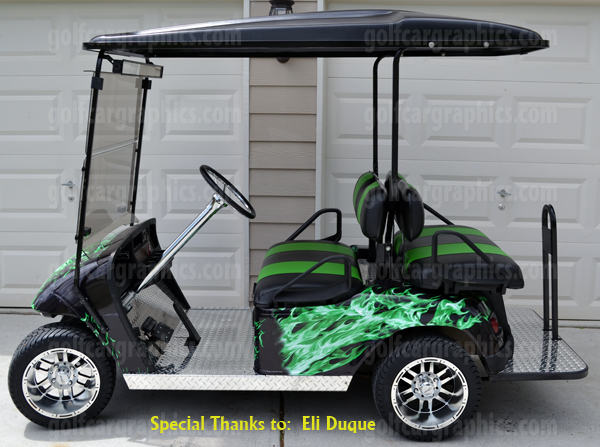 golf cart graphics Archives | Powersportswraps.com Golf Cart Vinyl Graphic Wraps on custom golf cart body wraps, yamaha golf cart graphic wraps, golf cart graphic kits,