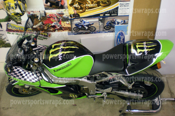 Monster Energy Bike Wrap Archives Powersportswraps Com