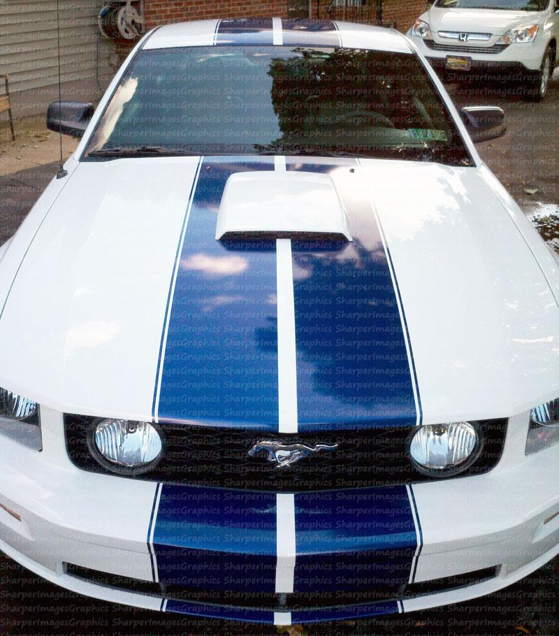 2011 Mustang Gt Custom Racing Stripes Produced