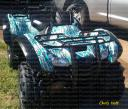 ATV wraps for all makes and model ATV machines, camo, metal effects, carbon fiber and more PowerSportsWraps.com