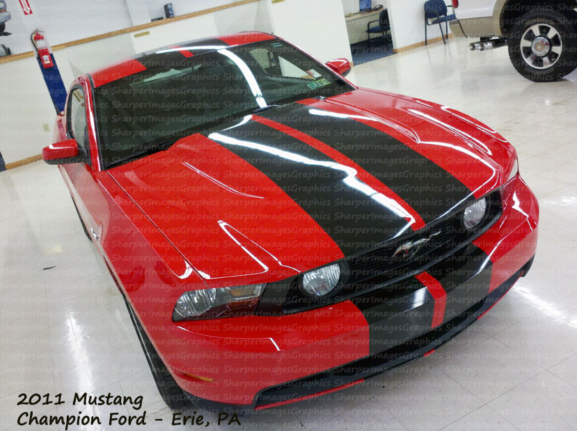 2012 mustang racing stripe gt stripes roush stripes by sharper images graphics. Black Bedroom Furniture Sets. Home Design Ideas