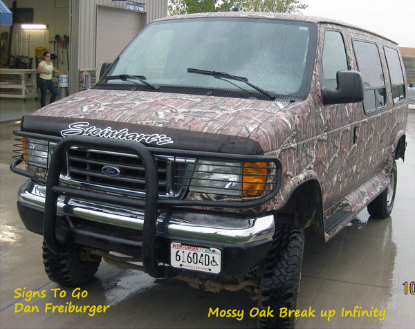 Mossy Oak Break up Infinity camouflage wrapping film, Peel & stick apply, do it yourself vinyl wraps by Powersportswraps.com