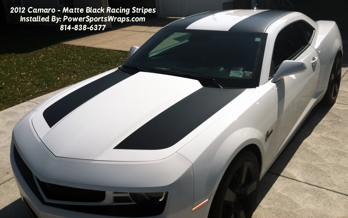 Camaro Racing Stripes Archives Powersportswrapscom - Cool car stripes