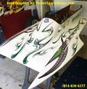 hydroplane boat wrap by powersportswraps.com