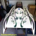 we offer a huge selecton of boat wrap patterns for all types of powerboats- powersportswraps.com